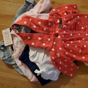 3 months baby bundle all Carter's size 3m
